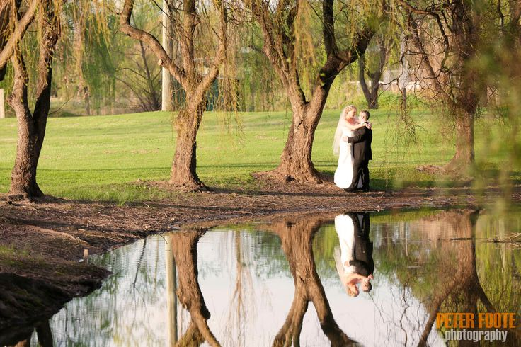 #Bride and Groom reflection