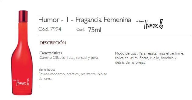 HUMOR I- FEMENINO