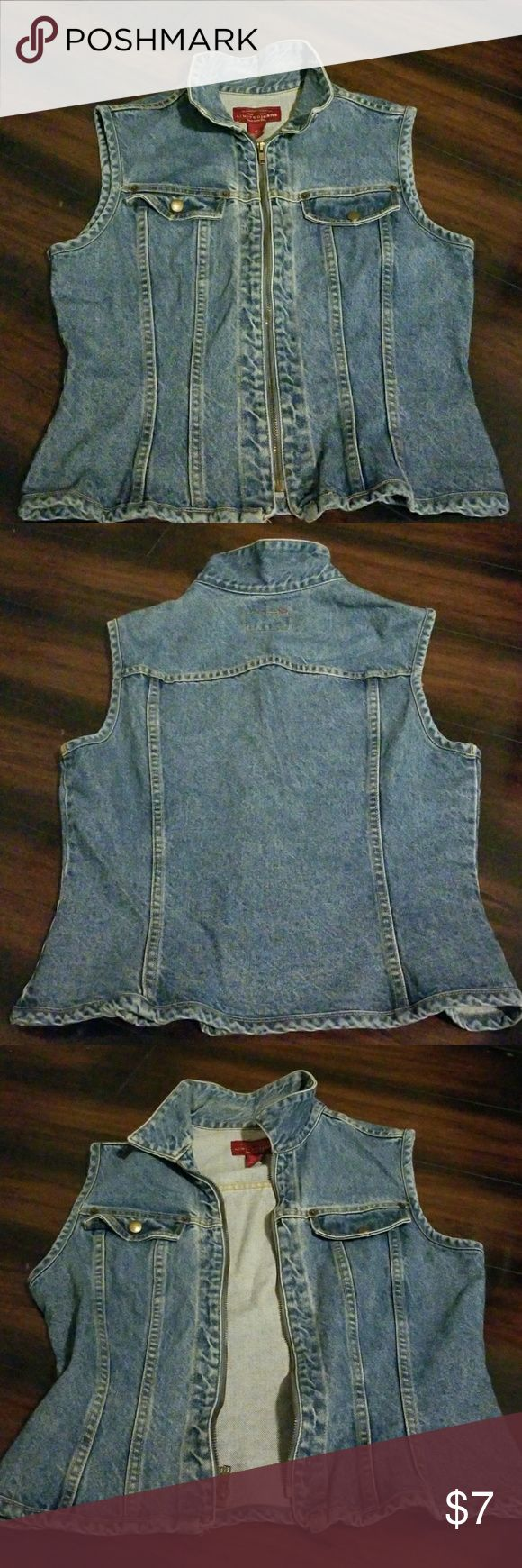 Short sleeve jean jacket Lightwashed fitted Jackets & Coats Jean Jackets