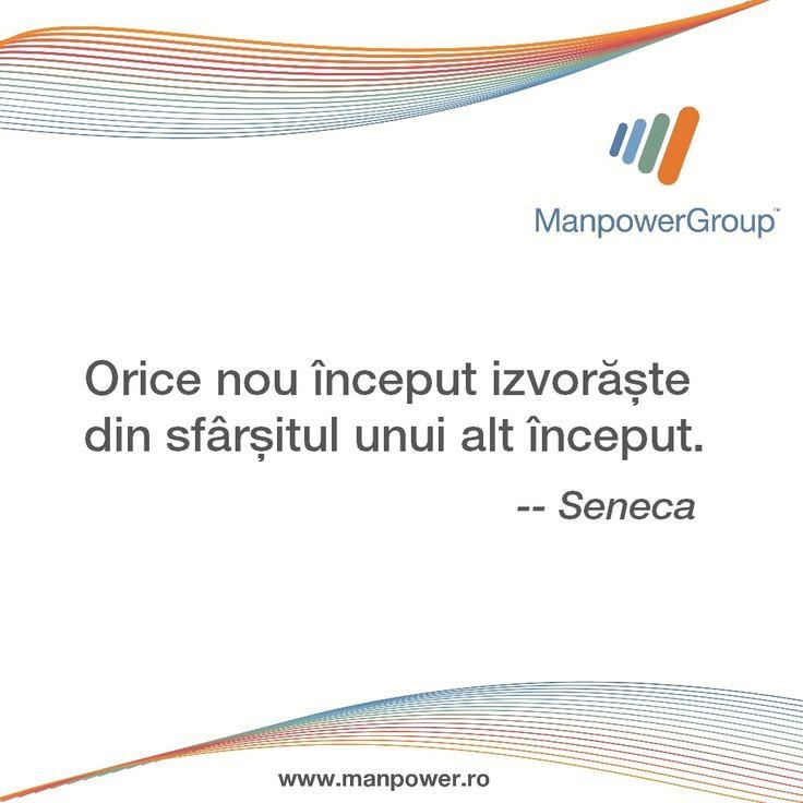 Seneca despre inceputuri