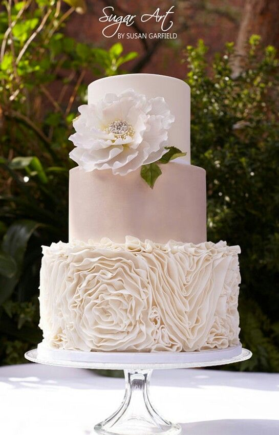 6 Stunning Wedding Cake Trends for 2015 on Craftsy