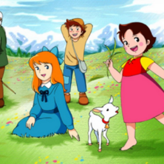 Heidi- the only kiddi show I remember in the 70's. Was Afrikaans, so had no idea of what was said!