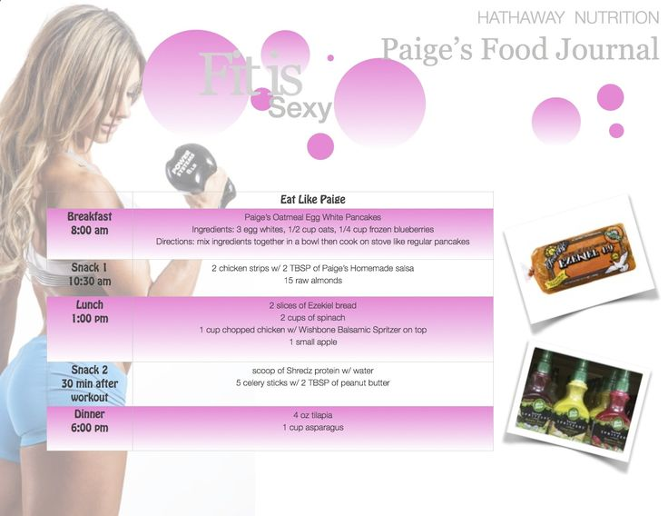 paige hathaway diet plan | MAKE MY FEW EASY CHANGES TO YOUR DIET  SEE YOUR FITNESS MODEL BODY ...