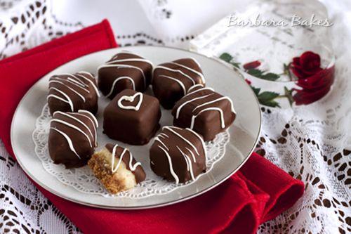 Chocolate caramel cheesecake bites. Next on the dessert list!