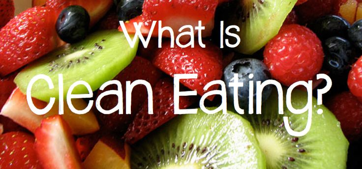 So do you know???  WTF Is Clean Eating?