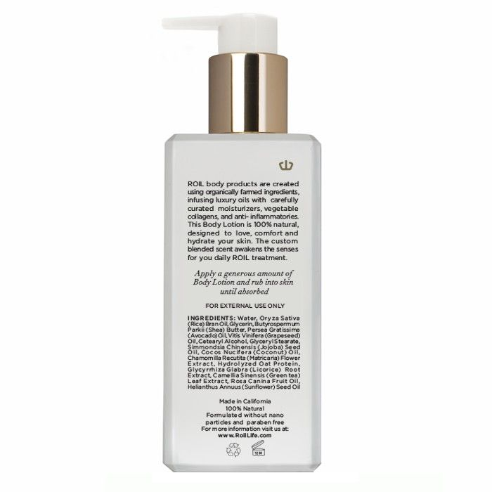 Body Lotion Roil Private Collection Natural Body Lotion Skin Care Natural Collection Skincare