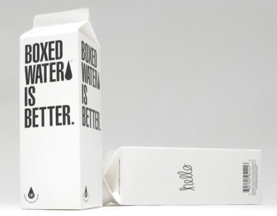 Check it out! Boxed Water is Better. An Environmentally Friendly Alternative. ~ Nooschi