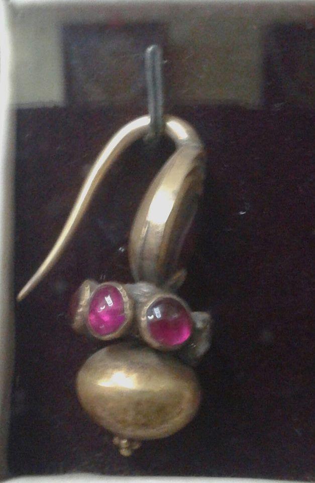 antique goan nose ring(nath)