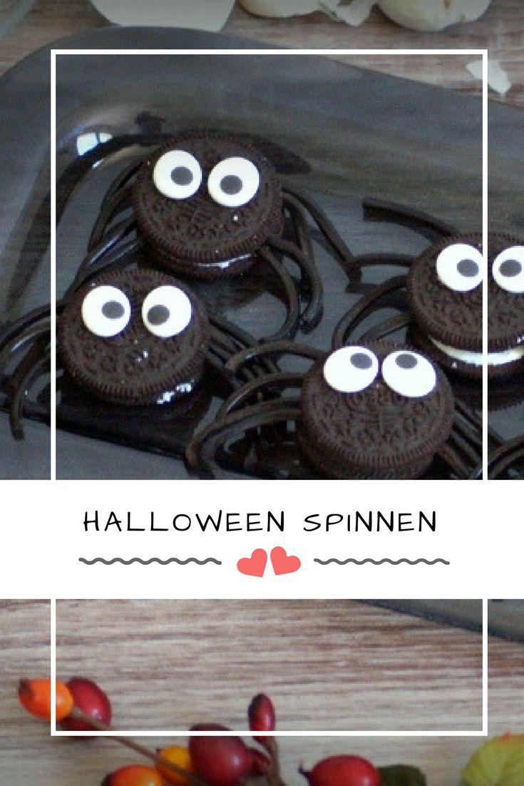 Anzeige - Die Halloweenparty steigt bald und die Halloweenrezepte sind noch nicht fertig? Ich zeige dir, wie du schnelle kindgerechte Halloween Rezepte zaubern kannst. Wie wäre es mit lustigen Spinnen?