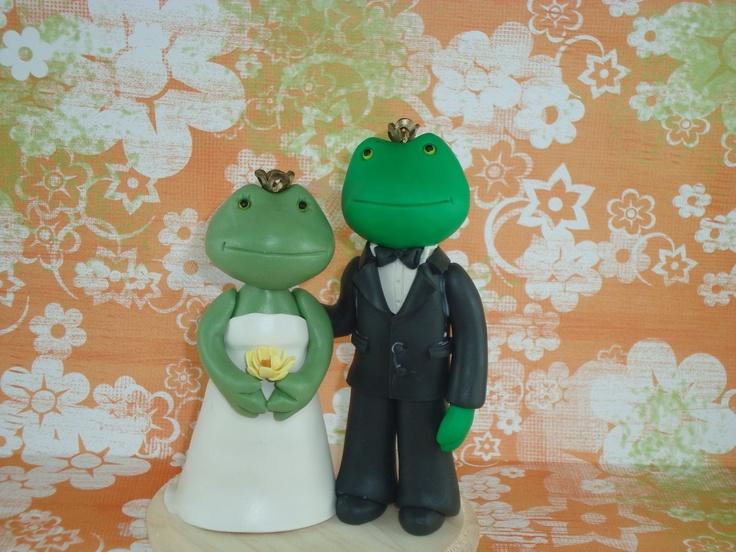 20 Best Frog Cake Wedding Images On Pinterest Frog Cakes