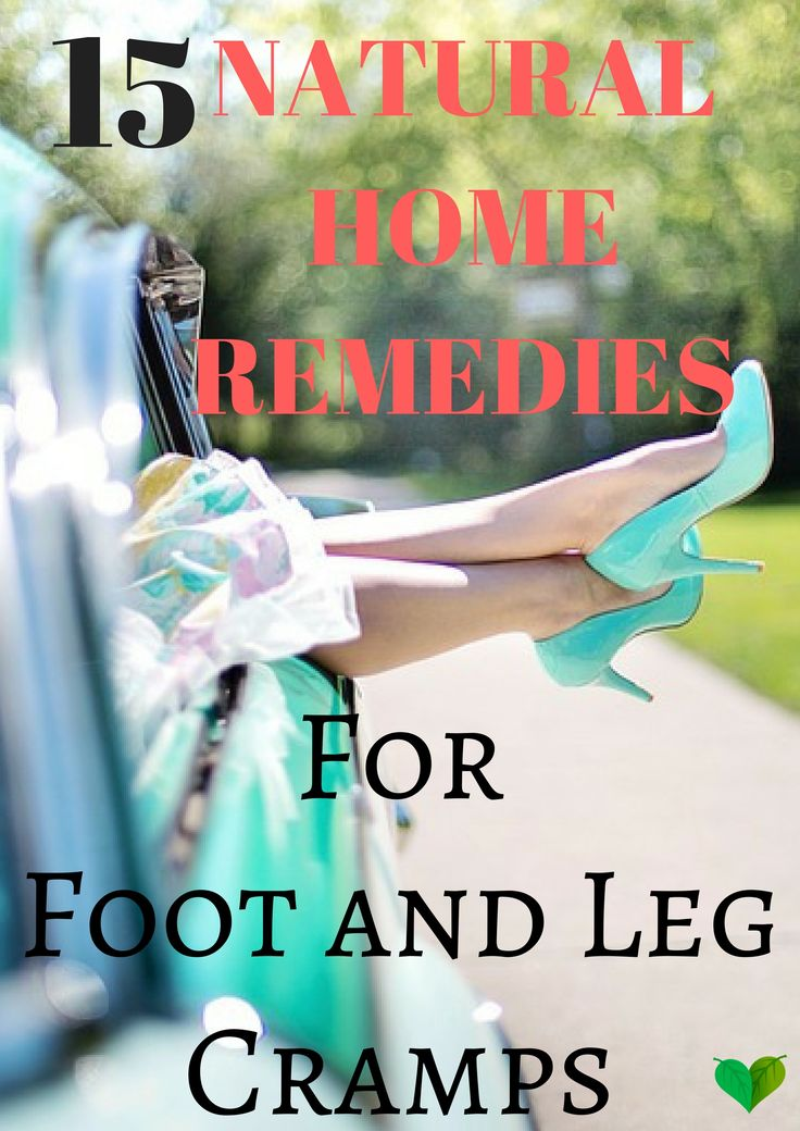 home remedies to relieve leg and foot cramps  http://everyhomeremedy.com/home-remedies-for-foot-and-leg-cramps/ #foot #leg #cramps