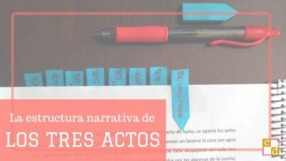 La estructura narrativa de los tres actos