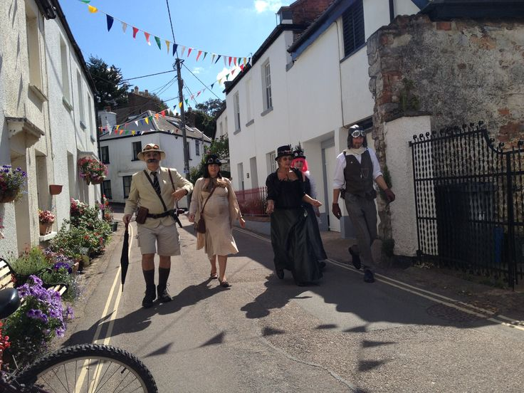 #devon traditions - Lympstone Furry Dance #lympston #furrydance #eastdevon #devontop100 #tradition