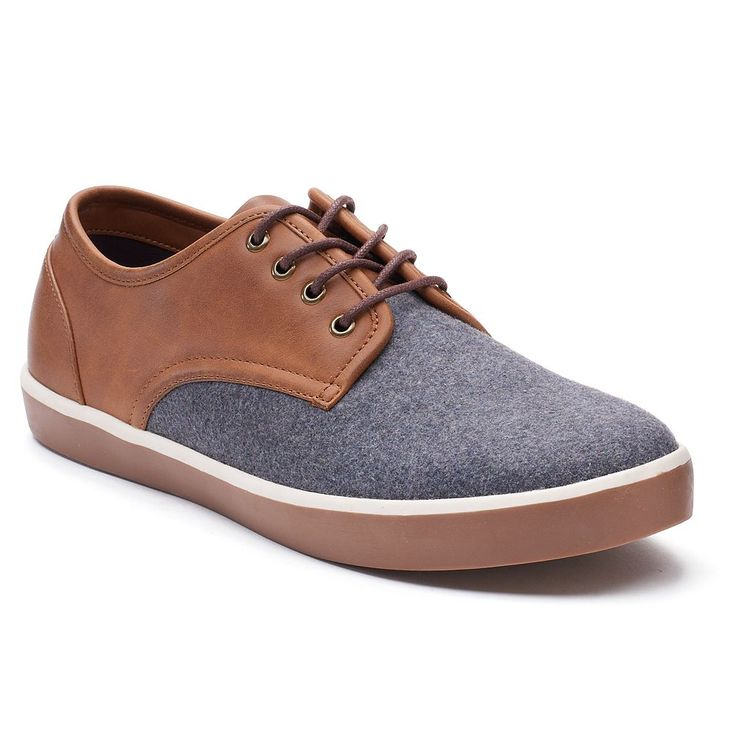 SONOMA Goods for Life™ Beasley Men's Oxford Shoes, Size: medium (10.5), Grey
