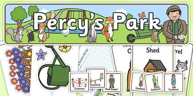 Percy the Park Keeper Role Play Pack
