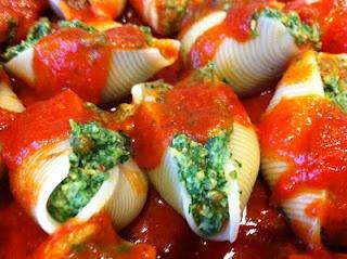Garlic, Vegan Recipe, Food, Doubt, Stuffed Shells, Add, Yummy Stuffed, Vegan Stuffed, Projects Kale