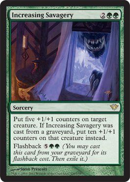 Magic: the Gathering - Increasing Savagery (120) - Dark Ascension by Wizards of…