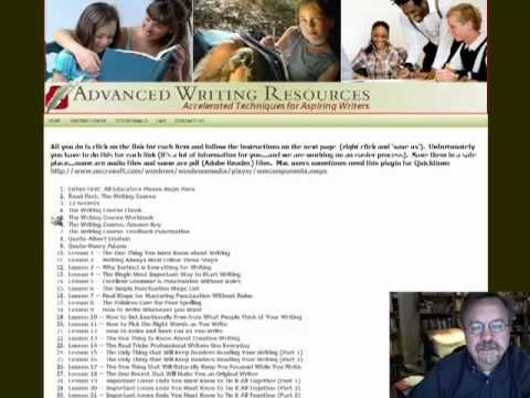 The Writing Course -- Writing program designed to be self-taught & compliment the Robinson Curriculum