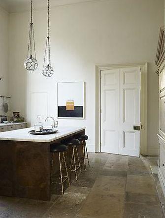 Rose Uniacke's kitchen in England