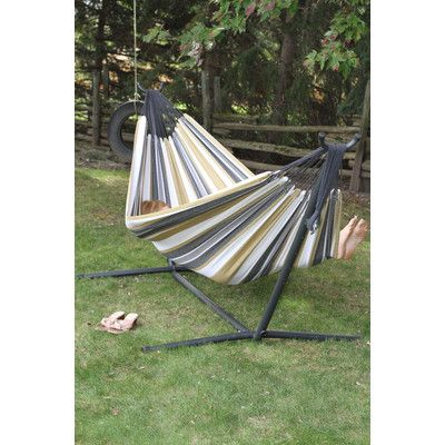 Found It At Wayfair Fabric Hammock With Stand Hammock