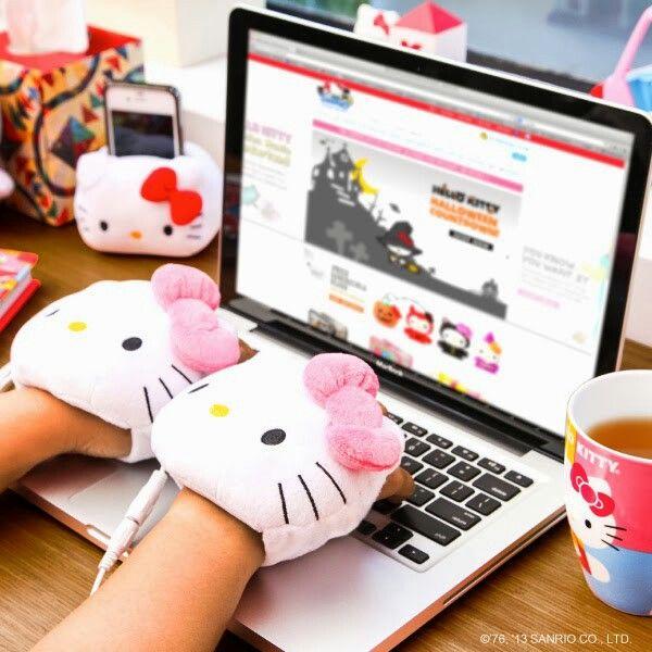 Hello Kitty 可愛い handwarmers ☆彡