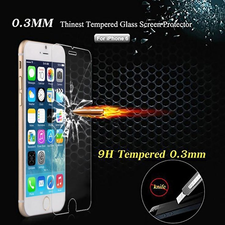 Cheap film reflective, Buy Quality film painting directly from China film coating Suppliers: 			Top Quality 2015 New 0.3mm HD Ultrathin Premium Tempered Glass Protective Film 	For iphone 6 Screen Protector 4.7 Fre