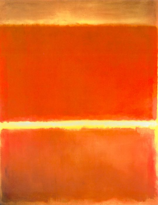 I am not a great fan of abstract painting but Mark Rothko's work is wonderful. ----BTW, Please Visit: http://artcaffeine.imobileappsys.com