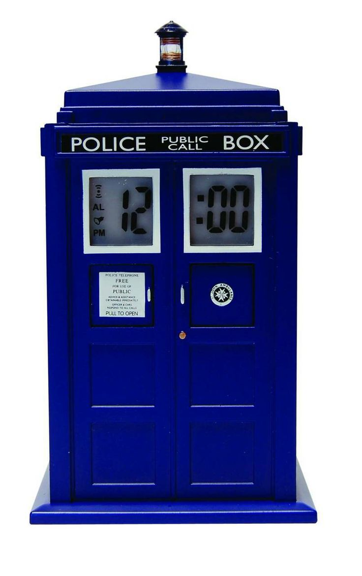 SuperCollectible.com - Doctor Who Tardis Projection Alarm Clock [FEB142334], $44.99 (http://www.supercollectible.com/doctor-who-tardis-projection-alarm-clock-feb142334/)