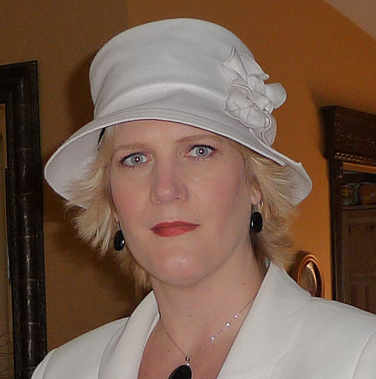 My favourite hat by Lillie & Cohoe I bought at a craft show in Calgary, AB