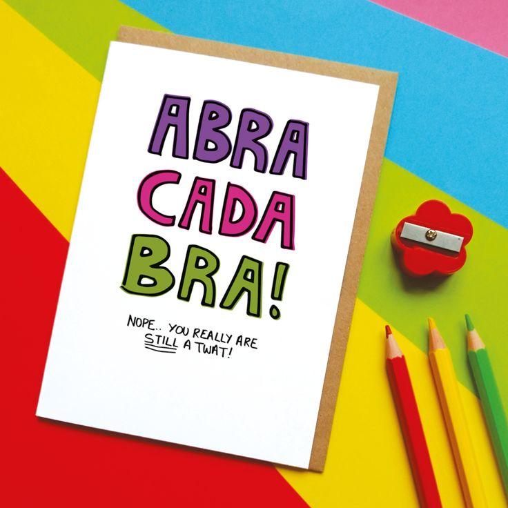 Abracadabra Card Trick