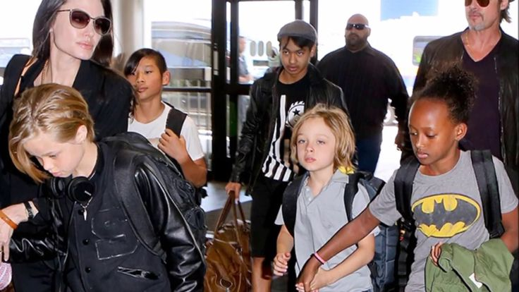 Angelina Jolie's Kids Angry and Confused Over Brad Pitt Divorce