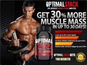 """""""Optimal Stack – Does it Really Work? Almost everyone has come to an agreement that bodybuilding supplements give you an edge and advantage in the gym that you simply wouldn't have had access to otherwise.  The only problem is that it seems to be next to impossible to find reliable bodybuilding supplements that do what they promise – an issue you'll never have to worry about when you use Optimal Stack."""""""