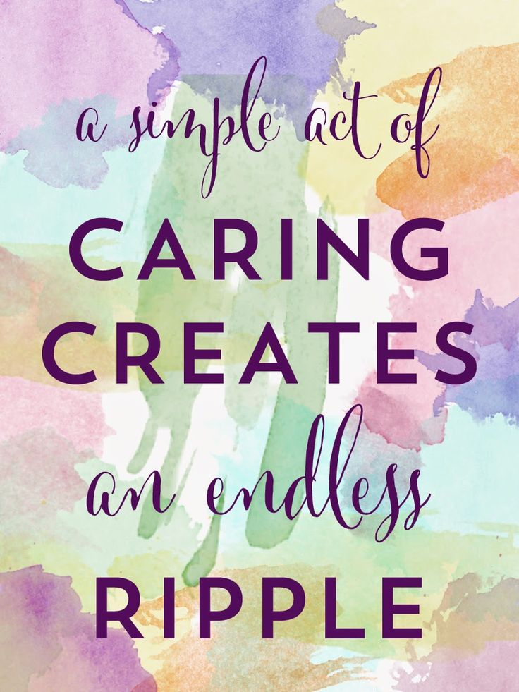 Friday Quotes A simple act of Caring creates an edless