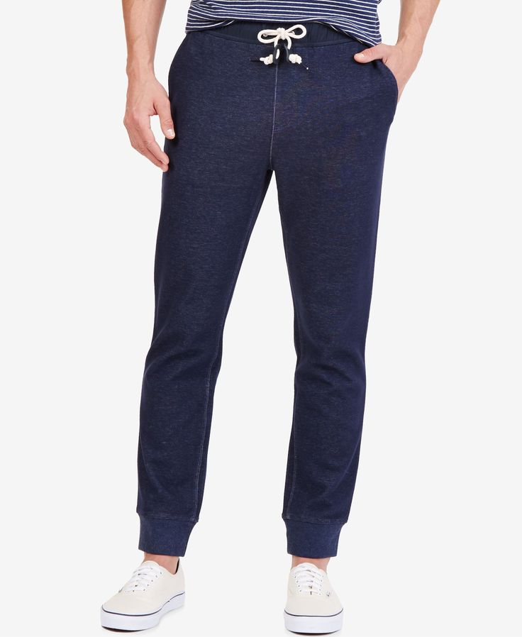 These slim fit jogger pants from Nautica level the playing field between…