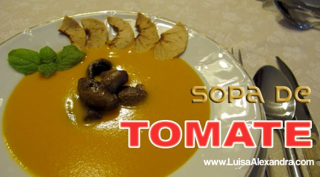 Luisa Alexandra: Sopa de Tomate • Bimby • VÍDEO