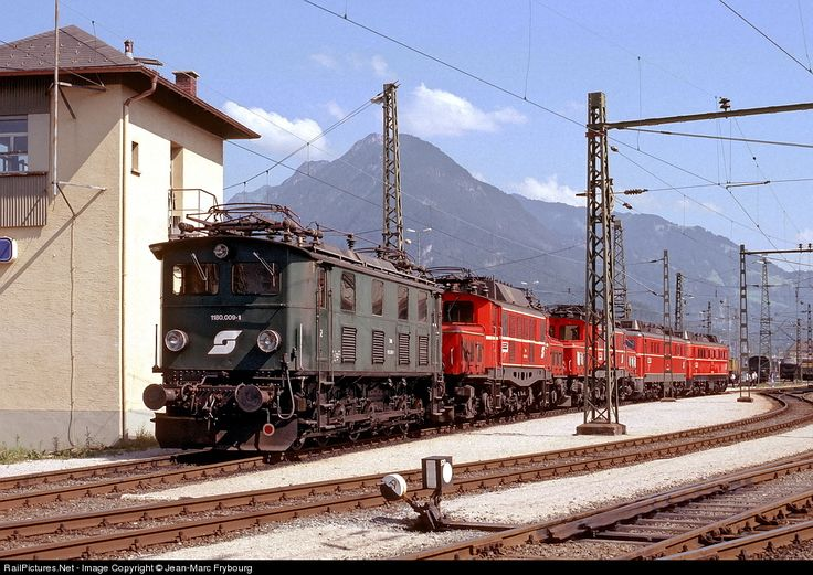 RailPictures.Net Photo: OBB 1180.009-1 OBB Austria Rail 1180 at Bludenz, Austria by Jean-Marc Frybourg