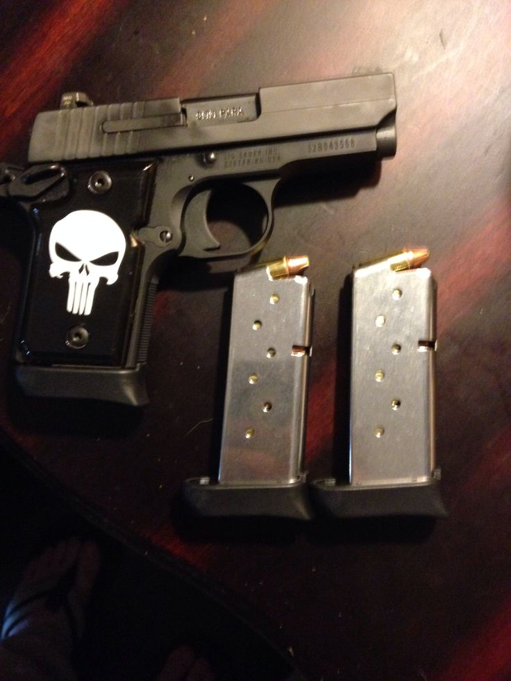 My new Sig Sauer p938 with zombie max rounds VERY NICE
