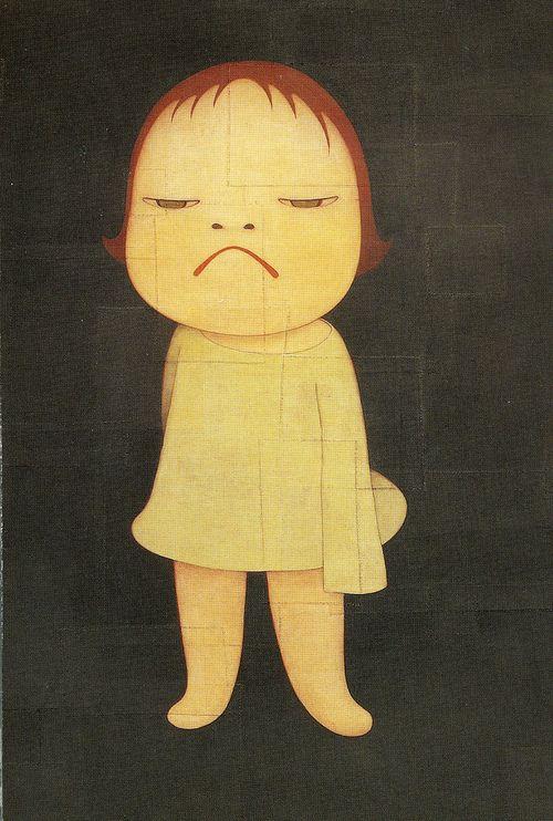 Yoshitomo NARA, 2002 Japan (This looks exactly like me as a 3-year-old.)