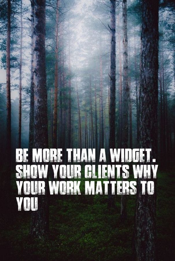 Be more than a widget. show your clients why your work matters to you - Add text to your images with PixTeller