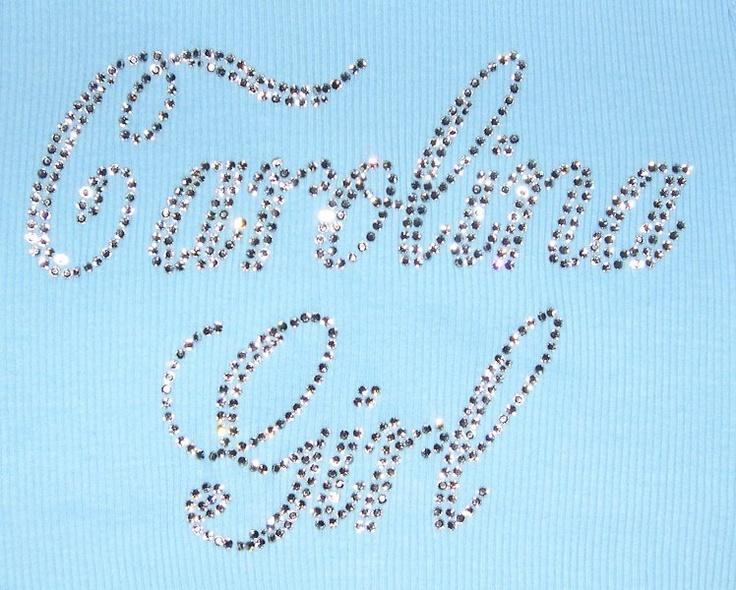 UNC Tarheels Carolina Girl