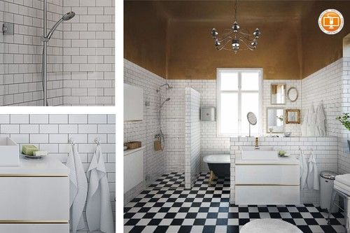 Subway tile is another classic trend to follow...it is a great design element in the bathroom or kitchen...i have it in my bathroom