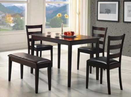 The Dark Cappucino Rectangular Coaster Cheap Dining Tables with discount 4 Top quality cheap dining tables with up to 67 percent off discount and consumer reviews