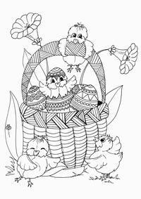 Tegninger - Påske - Printland