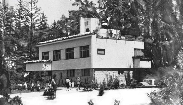 Romuald Gutt, Krynica-Zdrój, ca. 1936