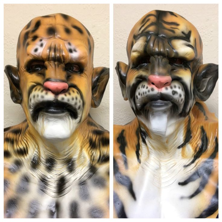 Latex Full Head Overhead Animal Mask Tiger Leopard Masquerade Fancy Dress Masks | Clothing, Shoes & Accessories, Costumes, Reenactment, Theater, Accessories | eBay!