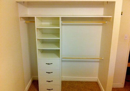 Closets Without Doors Bedroom Closet Burches Design