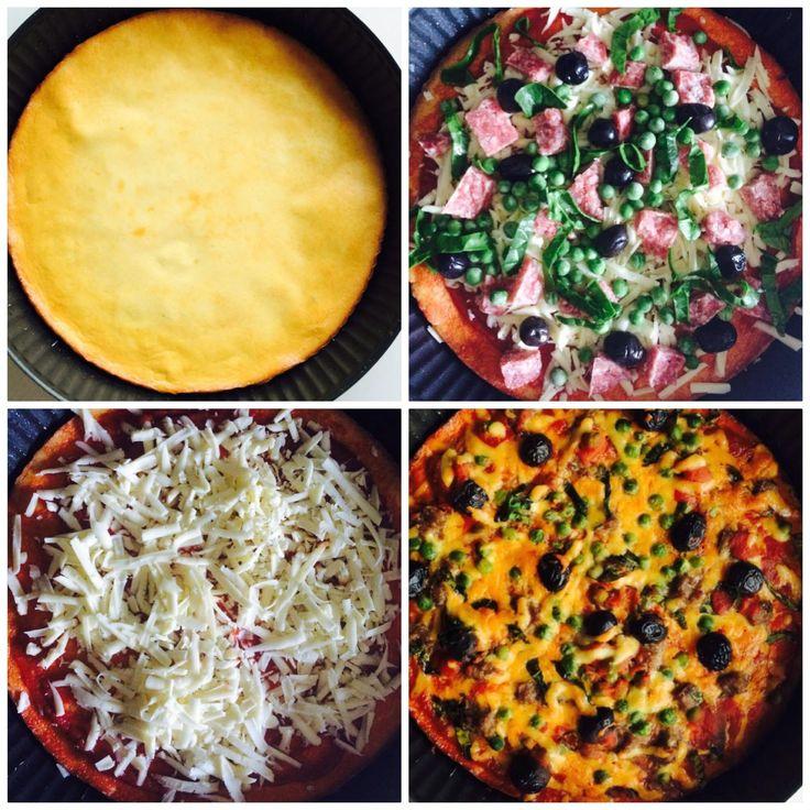 Unsuz Sağlıklı Pizza – Bade'nin Şekeri