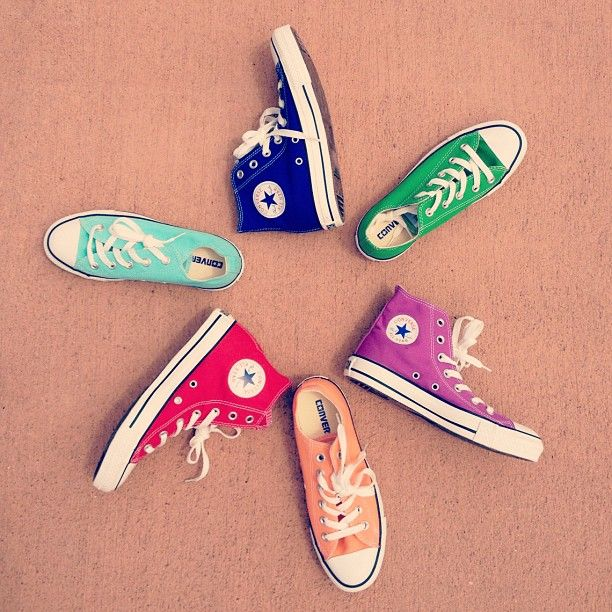 Candy colored #Converse. - @urban_outfitters- #webstagram