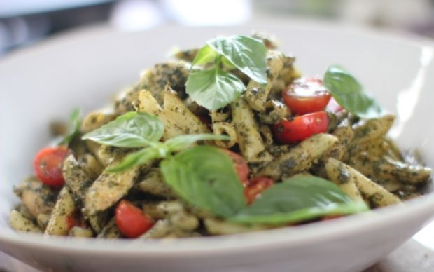 Pesto Chicken Penne by Siba Mtongana (Penne) @FoodNetwork_UK