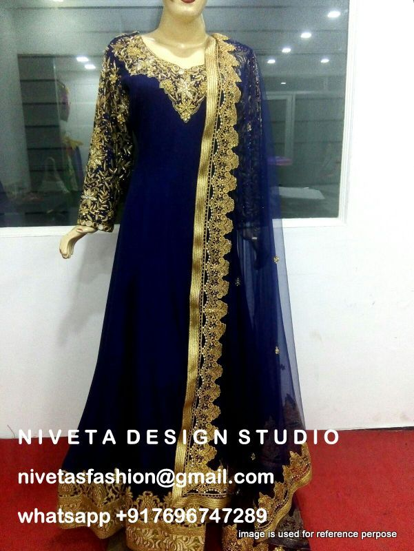get your dress designed at @nivetas Design Studio email for any price query nivetasfashion@gmail.com www.facebook.com/punjabisboutique